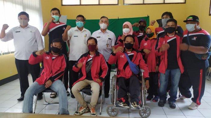 Atlet Paralimpik Cabor Angkat Berat dan Catur dari Pati Ikuti Selekda Peparnas Papua 2021