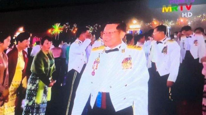 Di Hari Paling Berdarah, Pemimpin Junta Militer Myanmar Gelar Pesta Mewah