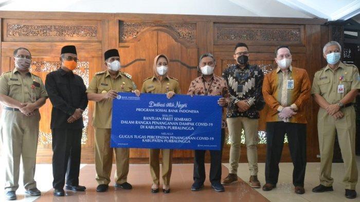 Bantu Warga Terdampak Covid-19 di Purbalingga, BI Purwokerto dan BMPD Salurkan 950 Paket Sembako