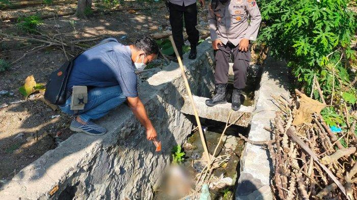 TKP kepala manusia Lapangan Desa Toyogo, Kabupaten Sragen Jumat (17/9/2021).