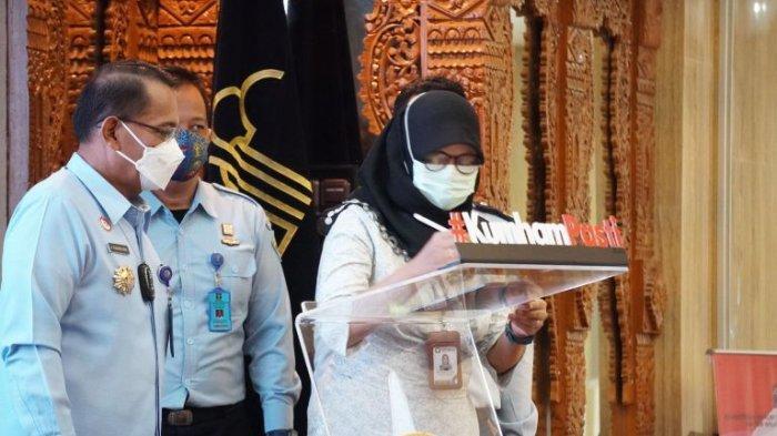 Sinergi dalam Peningkatan Kualitas Pelayanan Publik, Kemenkumham Jateng Gandeng Ombudsman