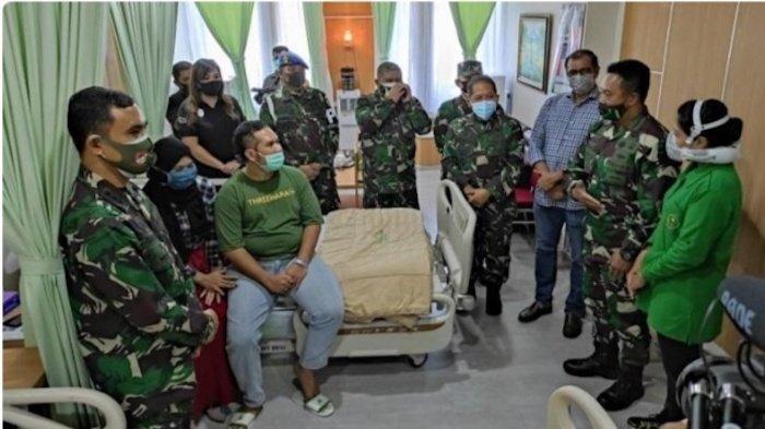 KSAD Andika Perkasa Jenguk Driver ANTV Korban Penyerangan Anggota TNIke Polsek Ciracas