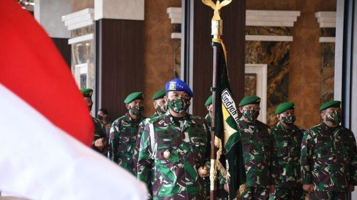 KSAD Andika Perkasa Naikan Pangkat 8 Orang Jenderal TNI AD, Ini Daftarnya
