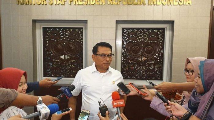 Moeldoko: Pertemuan Jokowi-Prabowo Tinggal Tunggu Waktu