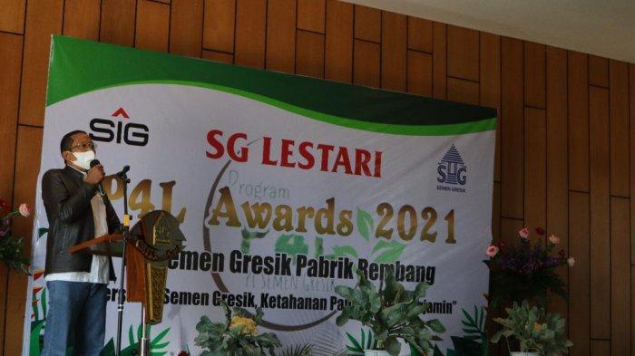 Semen Gresik Berikan P4L Awards Bagi Desa dengan Ketahanan Pangan Terbaik 2021