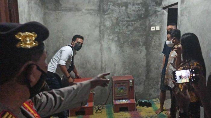Polres Karanganyar Amankan Dua Mesin Dingdong Di Rumah Warga, Pemilik Kabur