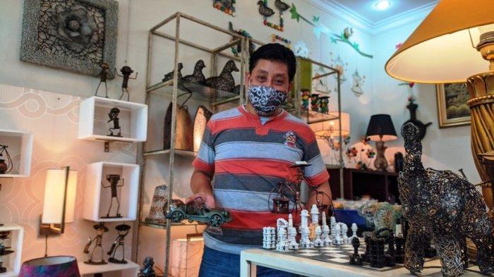 Pria Pati ini Ubah Limbah Logam Jadi Aneka Aksesoris Interior Estetik Kualitas Ekspor