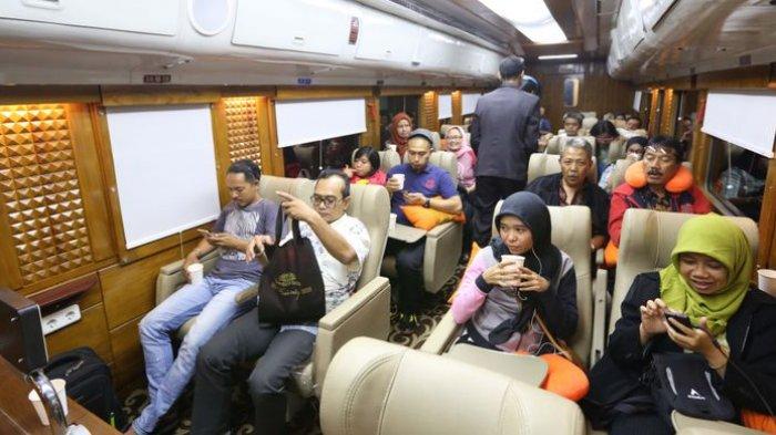 Ingin Rasakan Pelayanan Kereta Api Ala Keluarga Presiden? Naik Saja KA Wisata Priority