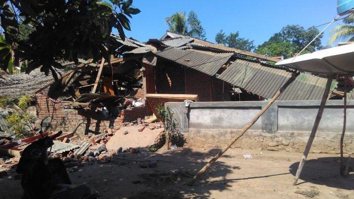 Pemerintah Akan Bangunkan Hunian Sementara untuk Keluarga Korban Gempa Lombok