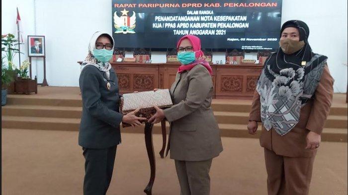 DPRD Kabupaten Pekalongan Gelar Rapat Paripurna Penandatanganan Nota Kesepakatan KUA-PPAS Tahun 2021