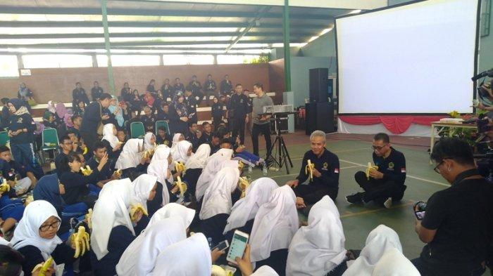 3.000 Peserta Meriahkan Gebyar Germas Pelajar Jateng di HKN ke-54