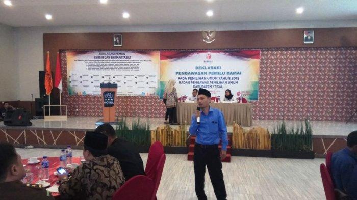 Bawaslu Kabupaten Tegal Minta Petahana dan Pejabat Yang Nyaleg Tidak Pakai Fasilitas Pemerintah