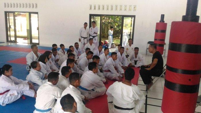 Tim Karate Kodam IV Diponegoro Perbanyak Latih Tanding Jelang Porad