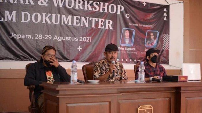 Workshop Film Dokumenter, DKD Jepara Harapkan Sineas Muda Hasil Karya Angkat Kearifan Lokal