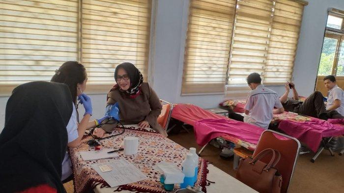 Peduli Kemanusiaan, DPRD Kabupaten Pekalongan Gelar Donor Darah
