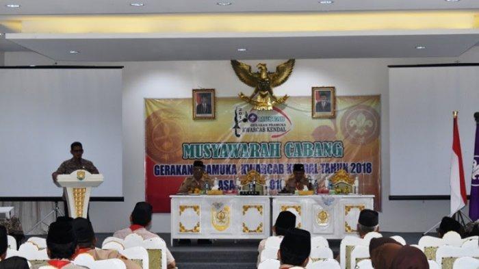 Prapto Utono Terpilih Sebagai Ketua Kwarcab Gerakan Pramuka Kendal