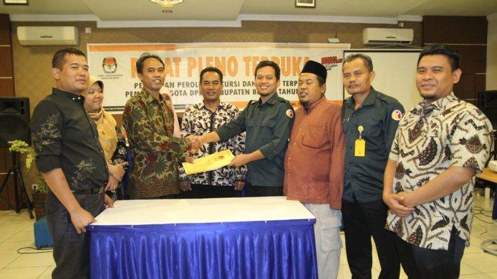 KPU Brebes Tetapkan Calon Anggota DPRD Terpilih, 15 Orang di Antaranya Wajah Baru