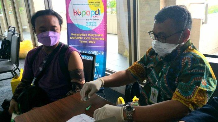 PAPDI Bantu Percepatan Vaksinasi di Kota Semarang, Fokus Tingkat RW dan Kecamatan Genuk