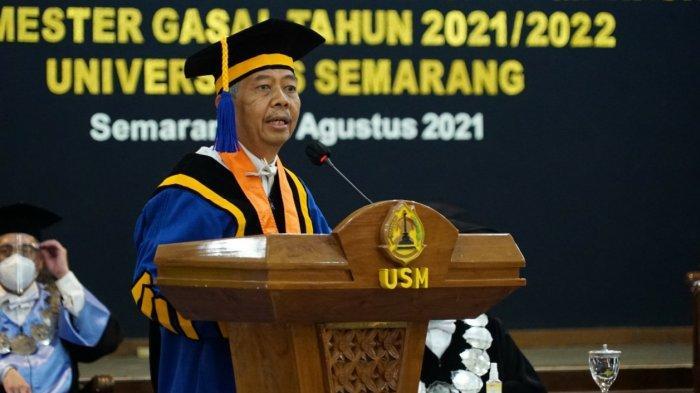 Ditetapkan Jadi Ketua Pembina Yayasan Alumni Undip,Prof Sudharto: USM Jadi Perekat NKRI