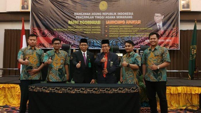 Baru Diluncurkan Pengadilan Tinggi Agama Semarang, Masyarakat Bisa Online Pantau Perkara Cerai
