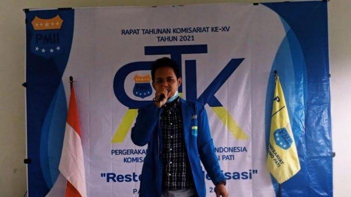 Ketua PMII Pati Khawatir Kisruh Partai Demokrat Ganggu Iklim Demokrasi