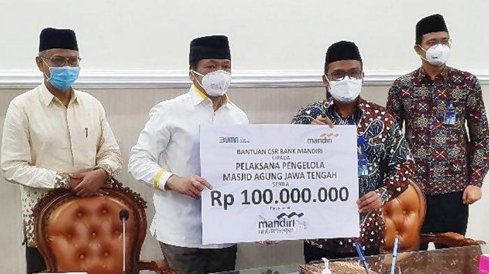 Museum Al-Husna di Menara MAJT Direnovasi, PT Bank Mandiri Sumbang Rp 100 Juta