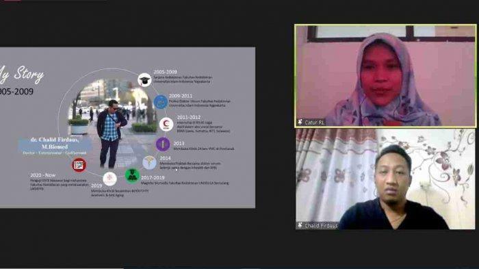 Program Studi Sains Biomedis Universitas Ivet Semarang Adakan Webinar Perawatan Kulit