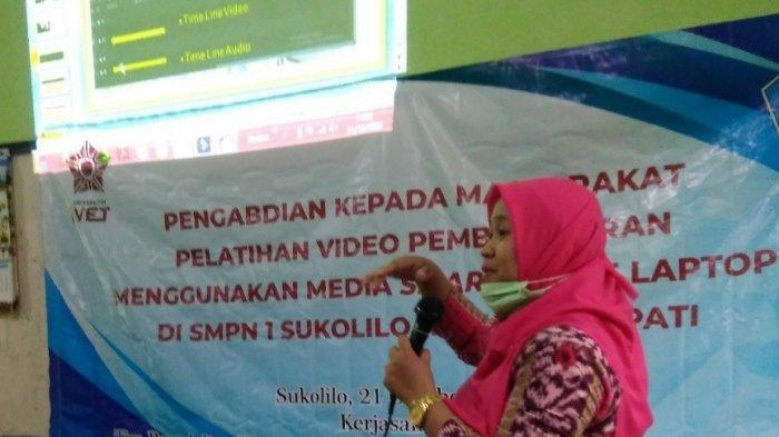 Tim Dosen Penelitian dan Pengabdian Prodi STI Beri Pelatihan Pembuatan Video Pembelajaran