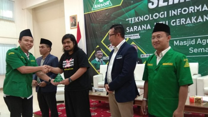 GP Ansor Jateng Deklarasi AntiHoaks, PoldaNyatakan Siap Mendukung Langkah Berikutnya