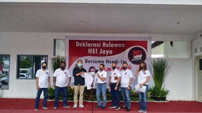 Alumni USM Deklarasi Relawan HEI Jaya Dukung Paslon Hendi-Ita di Pilwakot Semarang 2020