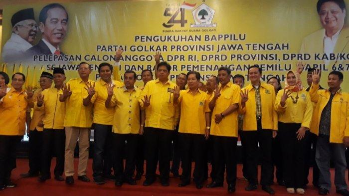 Partai Golkar Gelar Rakor Pemenangan Pemilu Dapil 6 dan 7 Jateng