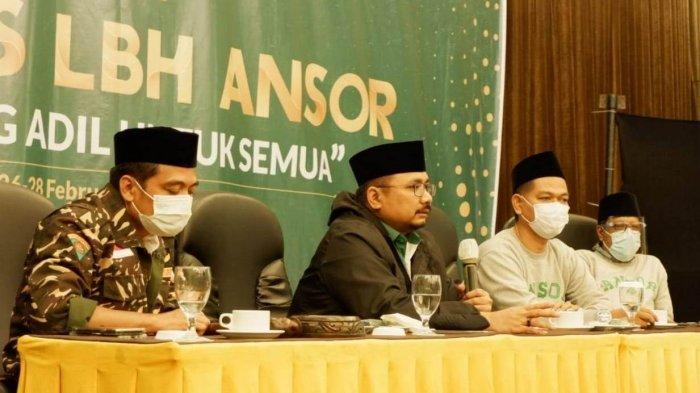 Gus Yaqut Ingatkan Kader LBH Ansor Fokus Dampingi Masyarakat Lemah