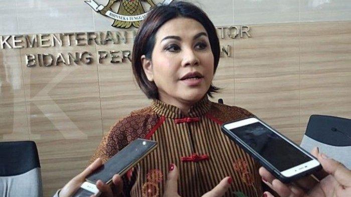 Ketua Umum Indonesian National Shipowners' Association (INSA) Carmelita Hartoto.