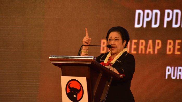PDI Perjuangan Menangi Pemilu 2019, Hasto Sampaikan Pesan Megawati Bakal Memimpin Lagi
