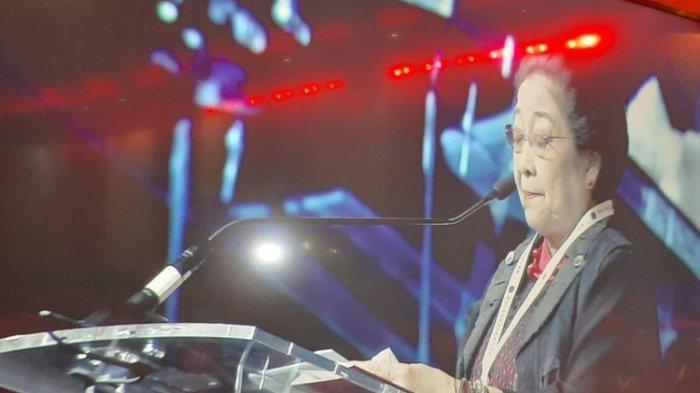Megawati Soekarnoputri Puji Hendi dan Ganjar Pranowo di Rakernas PDIP : Saya Sangat Berterima Kasih