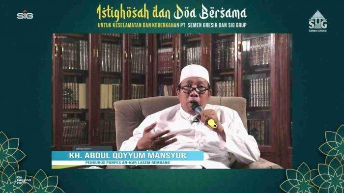 Mohon Keselamatan dan Keberkahan, SG Adakan Doa Bersama KH Abdul Qooyyum Mansyur