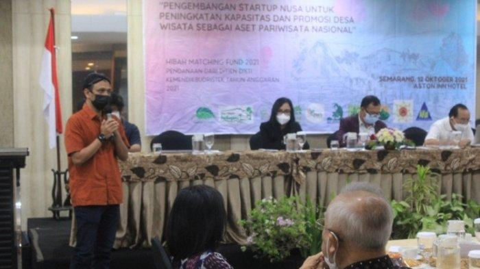 Matching Fund Kedaireka Kemendikbudristek, Unika Ciptakan Startup Nusa untuk Kembangkan Desa Wisata