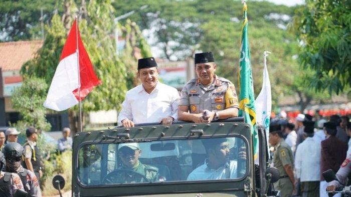 Santri Tasyakuran Pengesahan UU Pesantren, Kirab Hari Santri Nasional di Kabupaten Pati