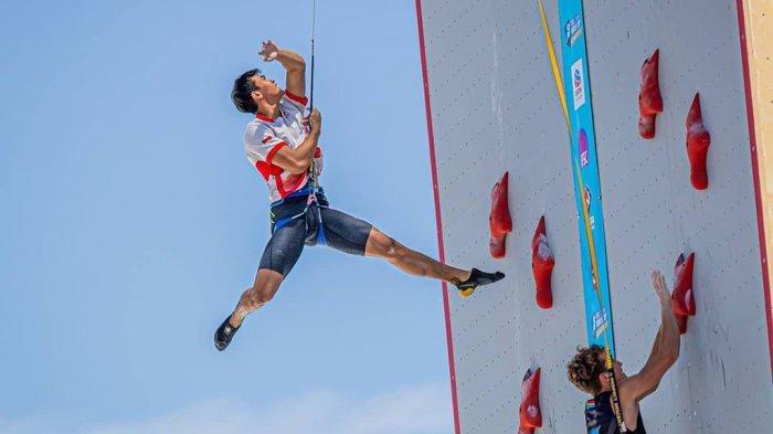 Anak Tukang Jualan Poster di Alun-alun Batang Jadi Atlet Internasional Panjat Tebing