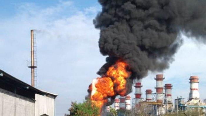 Kebakaran Proyek PLTU Indonesia Power Semarang, Damkar: Ada Percikan Api Las yang Menyambar Pipa BBM