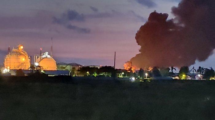 Kondisi Terkini Kebakaran Kilang Pertamina Cilacap, Api Kembali Muncul di Tanki Benzene