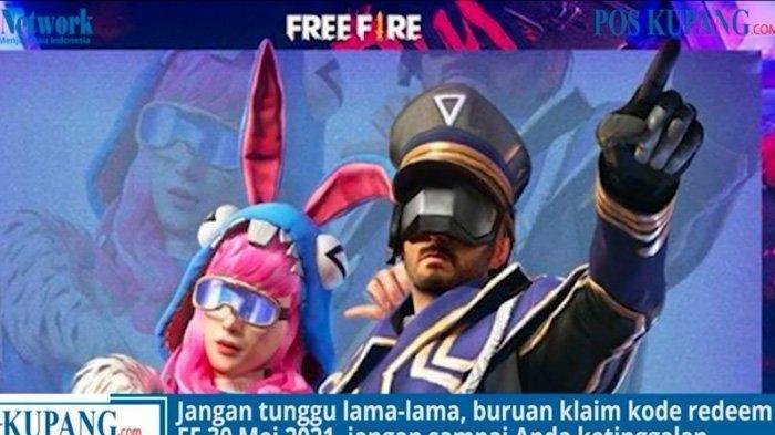 Kode Redeem FF Terbaru Jumat 4 Juni 2021, Ayo Buruan Klaim!