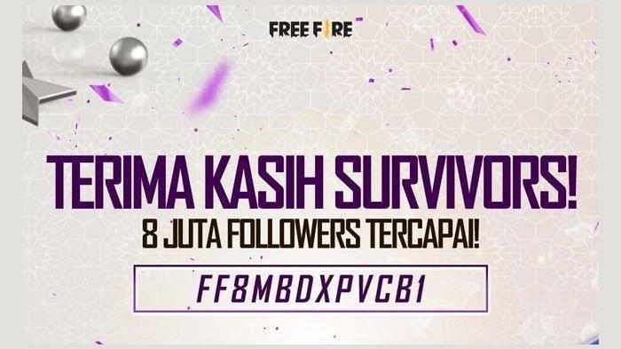 Kode Redeem FF Terbaru Rabu 19 Mei 2021, Berikut Cara Tukar di reward.ff.garena.com