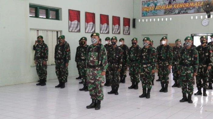 Persebaran Covid-19 di Eks Karesidenan Meningkat, Kodim Pati Terima Bantuan Satu Peleton Pasukan