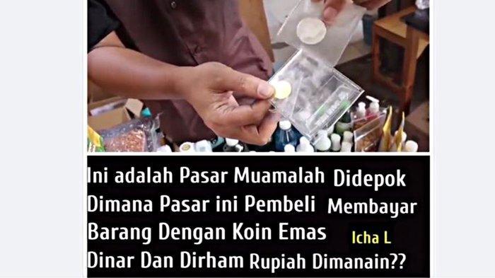 Jual Beli di Pasar Muamalah Depok Pakai Koin Dirham dan Dinar, Rupiah Tak Berlaku, Ada Sandal Nabi