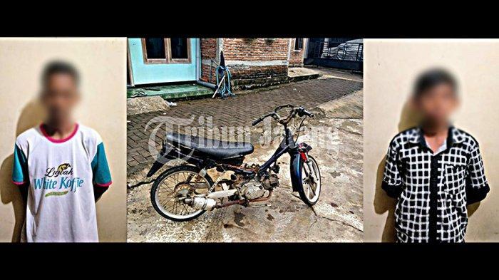 Bocah SMP dan SD di Semarang Kerja Sama Curi Motor Teman Buat Balap Liar, Dipreteli di Rumah