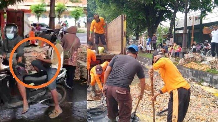 Fakta Baru Truk Telur Terguling di Sukoharjo, Muatan Dijarah: Sopir Hindari Sepeda Onthel