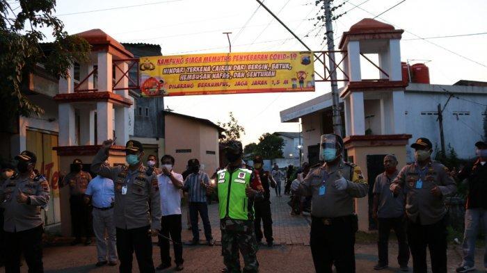 Ditetapkan Kampung Siaga Covid-19, Masuk RW 11 Kelurahan Kuningan Wajib Pakai Masker dan Cuci Tangan