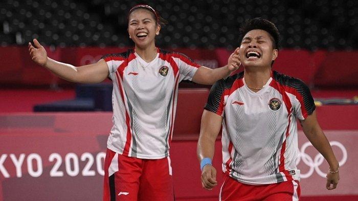 Momen Tak Terlupakan di Olimpiade Tokyo 2021, Greysia/Apriyani Bikin Pasangan Cina Kena Batunya