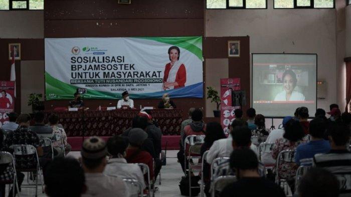 Tuti Nusandari Roosdiono Informasikan Program Jaminan Kehilangan Pekerjaan